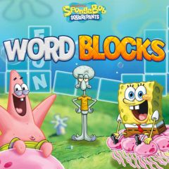 SpongeBob SquarePants Word Blocks