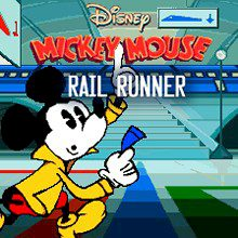 Mickey Mouse in Rail Runner