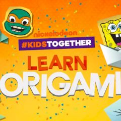 Nickelodeon #KidsTogether Learn Origami