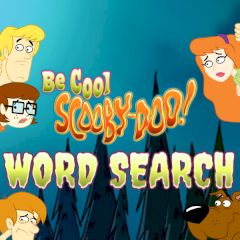 Be Cool Scooby-Doo! Word Search
