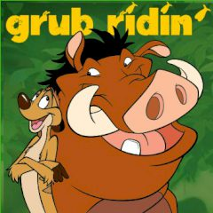 Timon & Pumbaa Grub Ridin