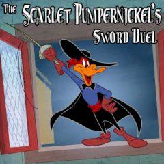 The Scarlet Pumpernickel's Sword Duel