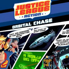Justice League Action Orbital Chase