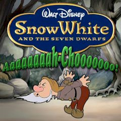 Snow White and the Seven Dwarfs Aaah-Choo!