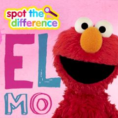 Sesame Street Spot the Difference with Elmo