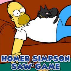 Homer Simpson Saw Game
