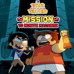 Victor and Valentino Mission to Monte Macabre
