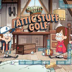 Gravity Falls Attic Stuff Golf