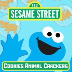 Sesame Street Cookies Animal Crackers